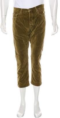 Massimo Alba Velvet Cropped Pants