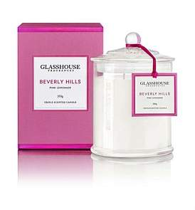 Glasshouse Fragrances Beverly Hills Triple Scented Candle