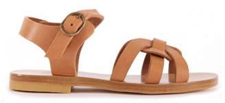 Bonton Leather Sandals