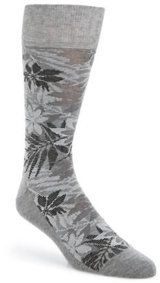 Men's Cole Haan Floral Socks $12.50 thestylecure.com