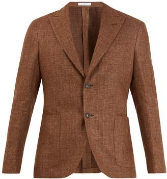 Boglioli Single-breasted wool-blend blazer