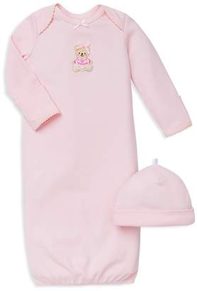 Little Me Girls' Bear Gown & Hat Set - Baby