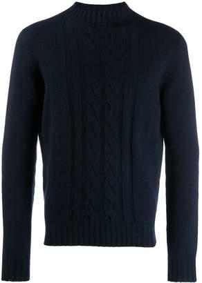 Tagliatore cable knit jumper