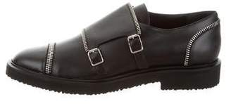 Giuseppe Zanotti Leather Monk Strap Shoes w/ Tags