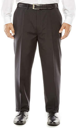 COLLECTION Collection by Michael Strahan Striped Black Suit Pants - Big & Tall