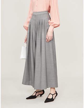 Emilia Wickstead x Woolmark Lucky wide-leg wool trousers