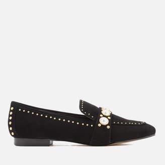 Carvela Women's Leighton Suede Loafers - Black