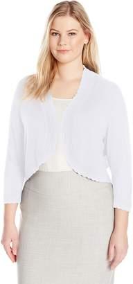Jessica Howard JessicaHoward Women's Plus Size Separate Bolero Shrug