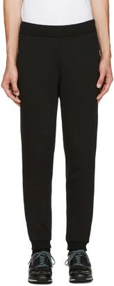Blue Blue Japan Black Fleece Lounge Pants $280 thestylecure.com