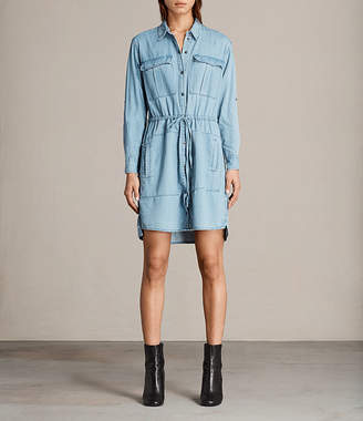 AllSaints Millie Shirt Dress