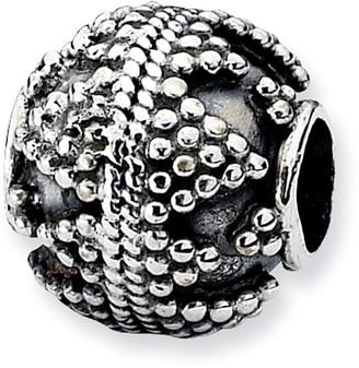 Prerogatives Sterling Studded Artisan Bead