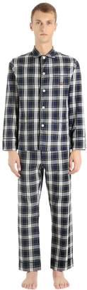 Checked Cotton Flannel Pajamas