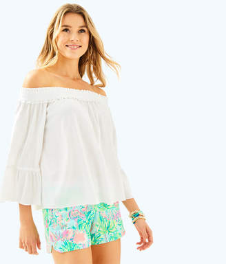 Lilly Pulitzer Moira Off The Shoulder Top