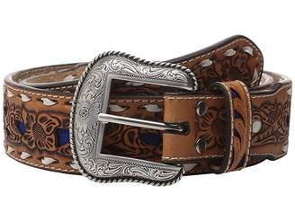 M&F Western Embossed with Lacing Belt