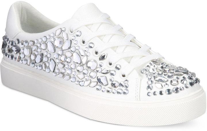 ALDO Zellina Jewel Embellished Lace-Up Sneakers