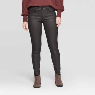 Universal Thread Women's High-Rise Skinny Jeans - Universal ThreadTM Burgundy
