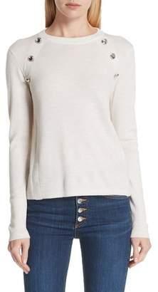 Veronica Beard Pearson Merino Wool Sweater