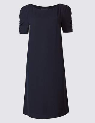 Marks and Spencer Ruched Sleeve Tunic Dress
