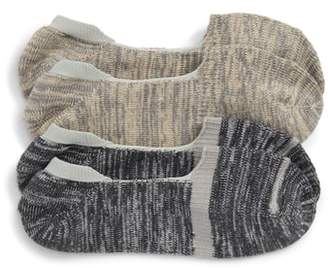 Nordstrom 2-Pack Marl Loafer Liner Socks