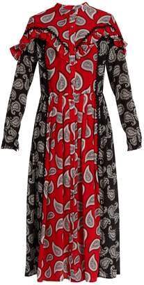 DODO BAR OR Mick paisley-print silk midi dress