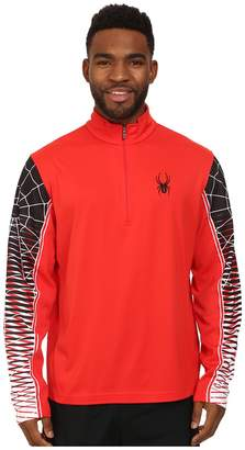 Spyder Webstrong Dry W.E.B.tm T-Neck Top Men's Long Sleeve Pullover