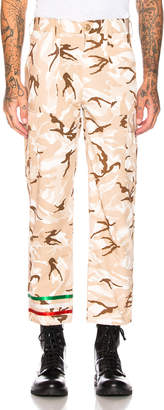 BEIGE Paria Farzaneh Military Man Trouser in | FWRD
