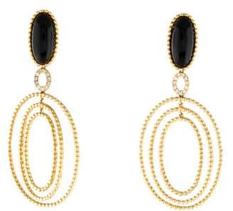 Carla Amorim 18K Diamond & Onyx Drop Earrings