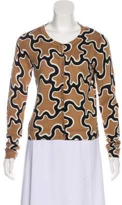 Diane von Furstenberg Ibiza Silk-Blend Cardigan