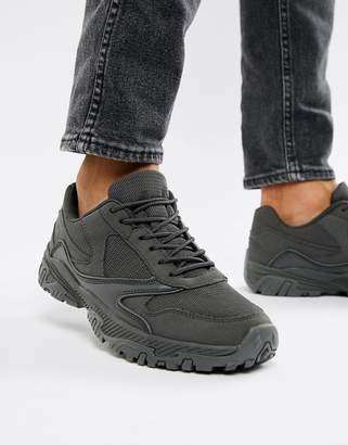 Asos Design DESIGN sneakers in block grey chunky sole