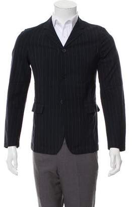 Marni Three-Button Pinstriped Blazer