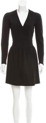 Celine Long Sleeve Mini Dress