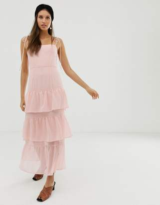 Capulet Quinn tiered maxi dress