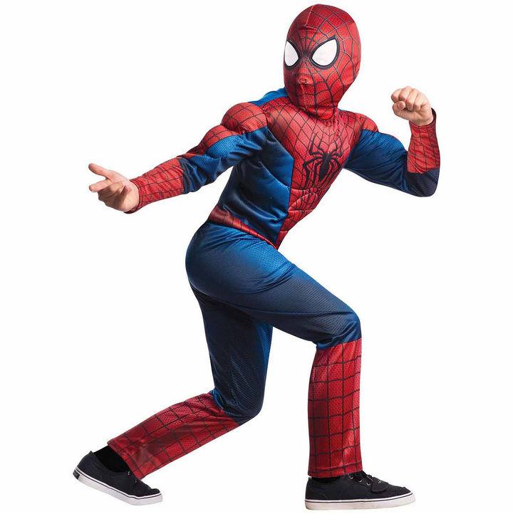 MARVEL The Amazing Spider-Man 2 Deluxe Child Costume - Medium (8/10)