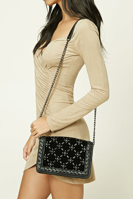 FOREVER 21+ Faux Leather Crisscross Bag $24.90 thestylecure.com