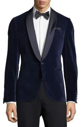 BOSS Cotton Velvet Dinner Jacket