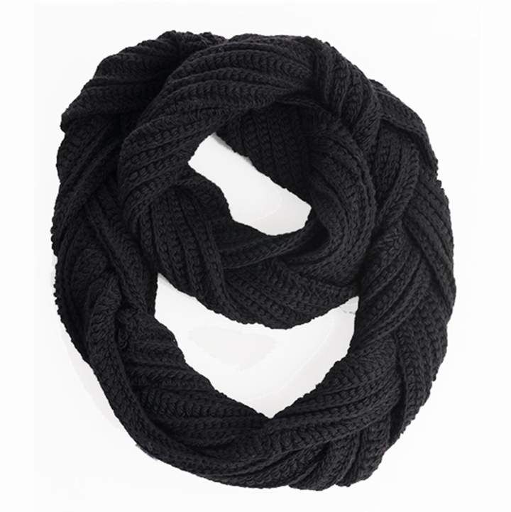 Nirvanna Designs Braided Infinity Scarf