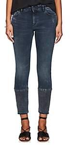 Dl 1961 Women's Florence Instasculpt Crop Jeans - Blue Size 30