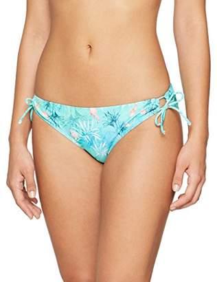 Dorothy Perkins Petite Women's Flamingo Bikini Bottoms, Green (Khaki, (Manufacturer Size: 12)