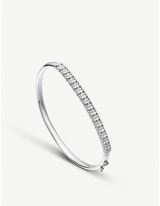 Astley Clarke Floris sterling silver Mille Bangle