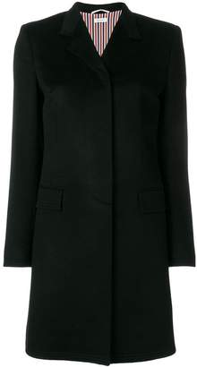 Thom Browne Bow Back Cashmere Chesterfield Overcoat