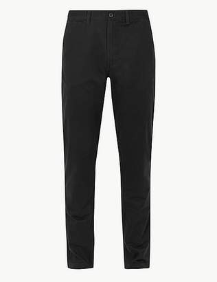 Marks and Spencer Big & Tall Tapered Fit Pure Cotton Chinos