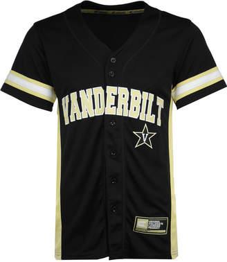 Colosseum Men's Vanderbilt Commodores Strike Zone Baseball Jersey