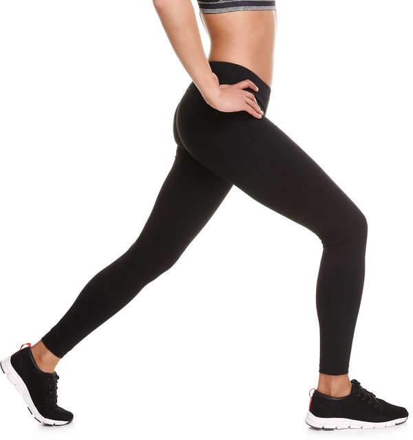 Joe Fresh Women's Essential Active Pant, JF Black (Size S)