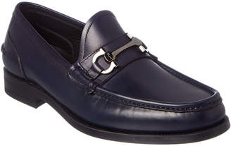 Salvatore Ferragamo Games Gancio Bit Leather Loafer