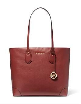 Michael Kors Eva Large Pebbled Leather Tote Bag
