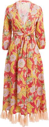 Rhode Resort Lena Robe Tassel Dress