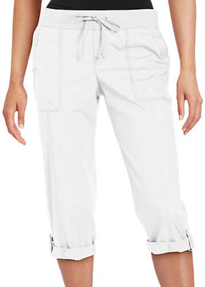 Lord & Taylor Cargo Capri Pants $68 thestylecure.com