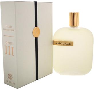 Amouage Unisex Library Opus Iii 3.4Oz Eau De Parfum Spray