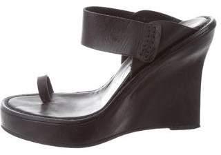 Ann Demeulemeester Slide Wedge Sandals