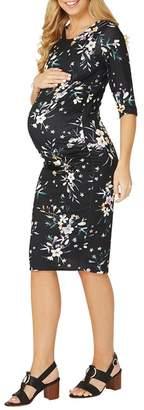 Dorothy Perkins Maternity Floral Print Bodycon Dress